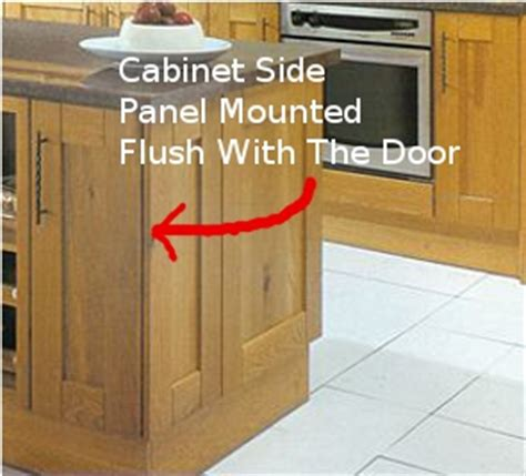 how to install kitchen cabinet end panels installing kitchen cabinet doors cabinet doors kitchen 9441