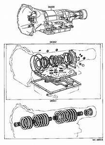 Toyota Corolla Gasket Kit  Automatic Transmission Overhaul