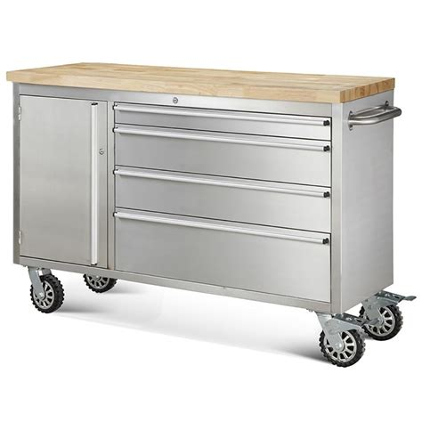 kitchen cabinet metal drawer boxes hewetson tool chests 48 quot 4 drawer and cabinet rolling
