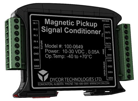 Magnetic Pickup Signal Conditioner - Multichannel