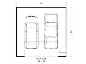 Simple Garage Plan Ideas Photo by Garage Floor Plan 24x24 Multilevel Home True Built