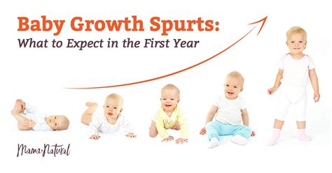 Baby Growth Spurt Chart Hospinoiseworksco