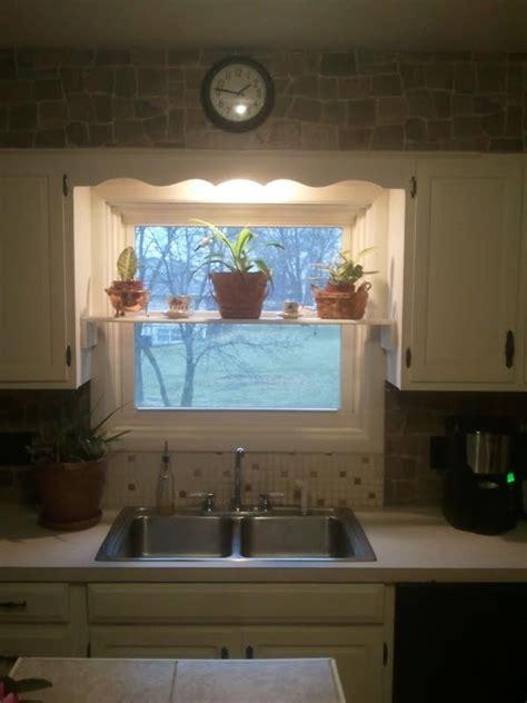 kitchen window shelf  prettier version  hold