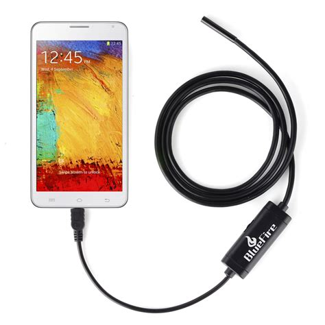 snake camera with light aliexpress com buy android otg endoscope 7mm mini