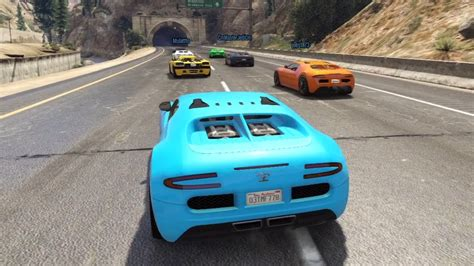 gta    race   bugatti veyron st place youtube
