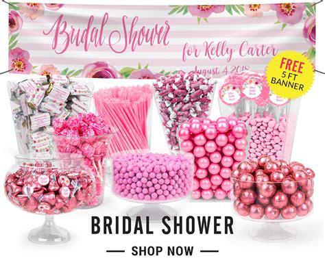 Personalized Candy Buffets