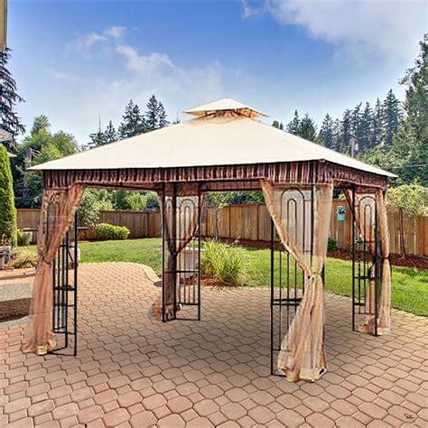 patio umbrella replacement canopy home depot home depot canada gazebo replacement canopy cover garden