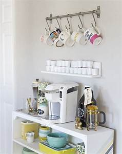Cafe Bar Zuhause : 15 ikea hacks to improve your morning routine umbau ~ Watch28wear.com Haus und Dekorationen