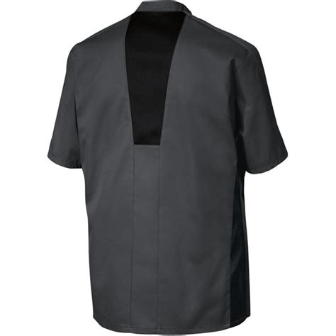 bp cuisine veste de cuisine grise stretch liberte de chez bp