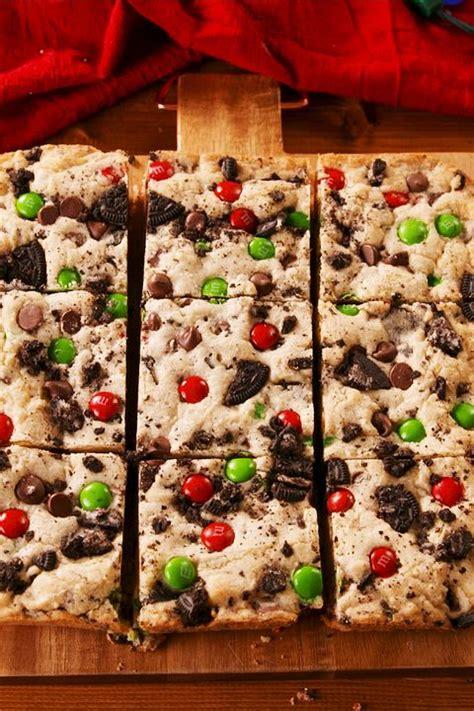 christmas desserts treats holiday delish recipes recipe dessert easy blondies gillette charlie highlight super fun