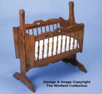 furniture baby cradle woodworking plans