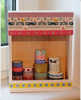 washi buttinette washi was soll ich damit washi aufbewahrung storage und einige dekoideen