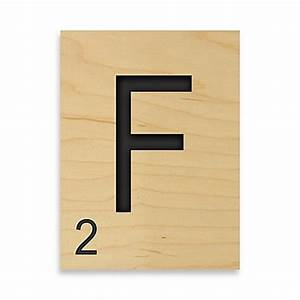 buy game tile letter quotfquot wall art from bed bath beyond With letter f wall decor