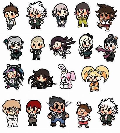 Danganronpa Stickers Nagito Hinata Hajime Thumbnail Boop