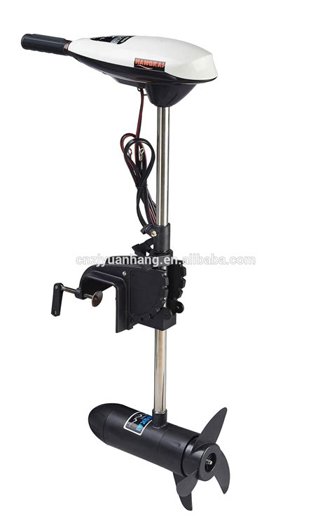 Electric Boat Motor With Battery by Durable 55lbs Thrust Electric Trolling Motor For