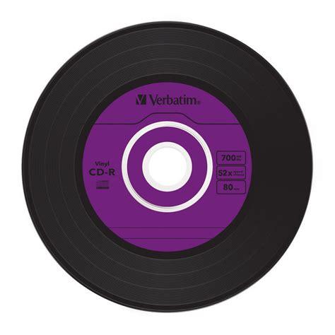 verbatim  cd  vinyl rpm single label azo