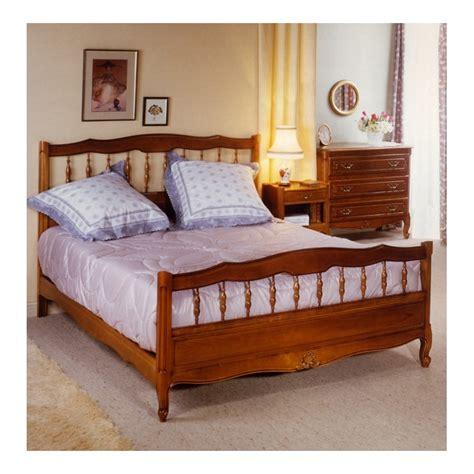 lit louis xv 105 merisier1 2 balustres meubles de normandie