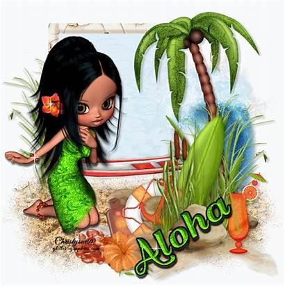 Aloha Glitter Graphics Gifs Animated Greetings Giphy