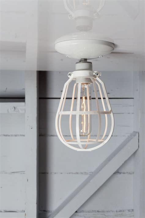 modern cage light ceiling mount industrial light