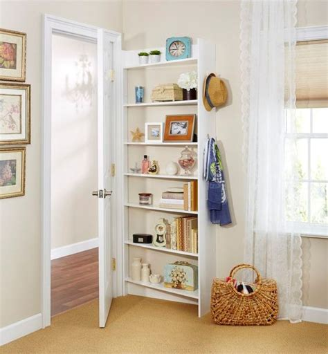 the door shelves 24 clever and comfy bedroom wall storage ideas shelterness