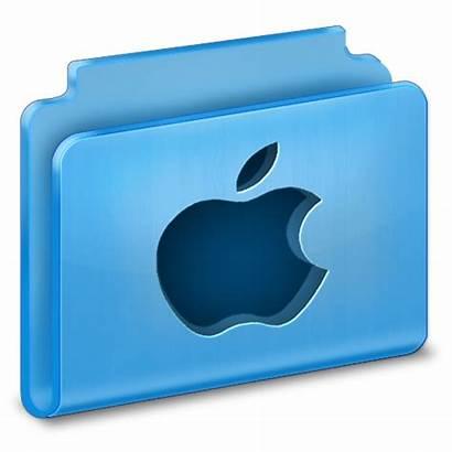 Folder Mac Icon Apple Icons Folders 3d