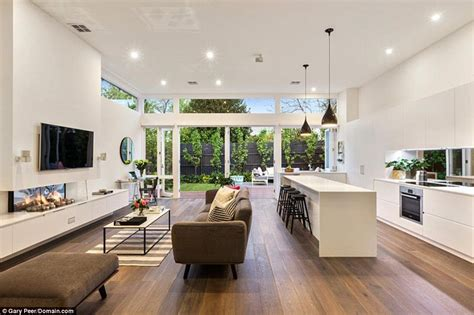 contemporary open plan kitchen living room open plan kitchen living room modern on kitchen and inside 9455