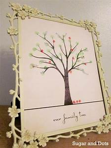 fingerprint family tree from sugan dots With family tree thumbprint template