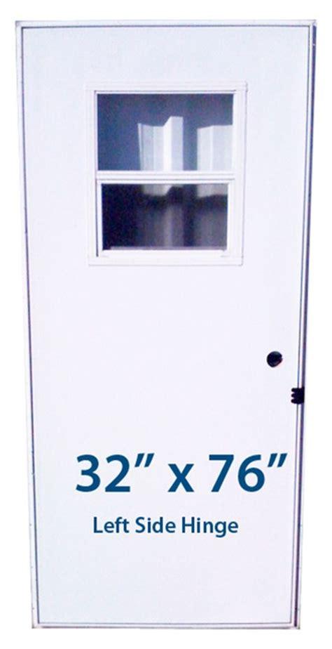 mobile home slider door  lh left hand hinge doors