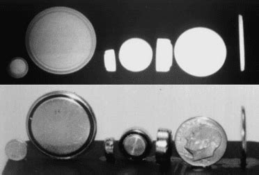 ray radiographic appearance  coings  disk