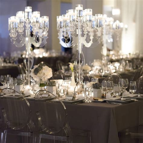 modern gray reception decor photo by averyhouse event planning midwestern