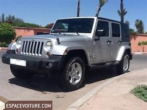 Prix Jeep : jeep wrangler 2011 diesel voiture d 39 occasion marrakech prix 385 000 dhs ~ Gottalentnigeria.com Avis de Voitures