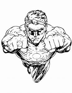 Dc Coloring Pages - Coloring Home