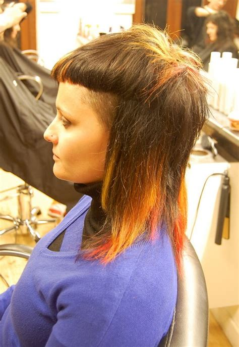 flames  fabulously head turning cut color hairstyles