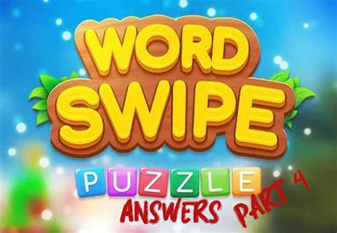 word swipe answers level   touch tap play