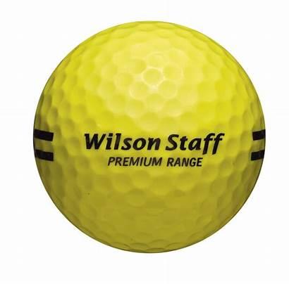 Balles Wilson Practice Jaune Staff Carton Premium
