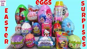 Chocolate Easter Surprise Eggs Openng Toys Surprizamals ...