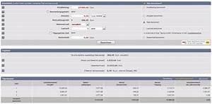 Effektiven Zinssatz Berechnen : kreditzinsrechner kredit sterreich ~ Themetempest.com Abrechnung