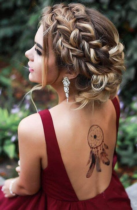 27 gorgeous prom hairstyles for long hair messy french