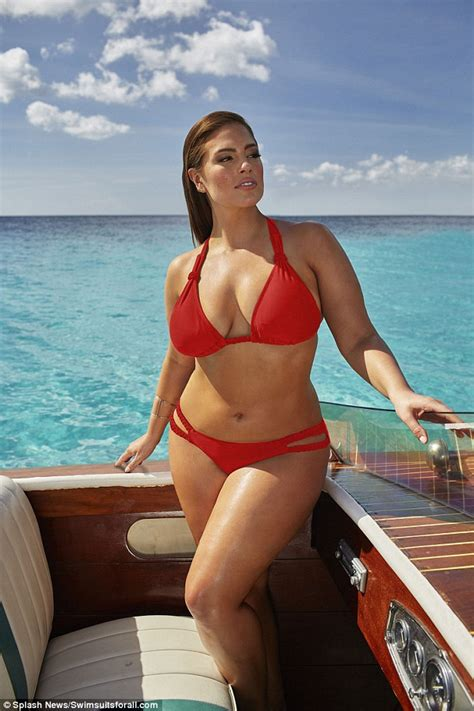 h e r swimsuit ashley graham showcases incredible curves in sizzling new