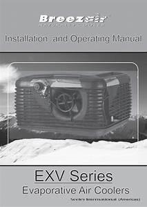 Breezair Exv Series Owner U0026 39 S Manual