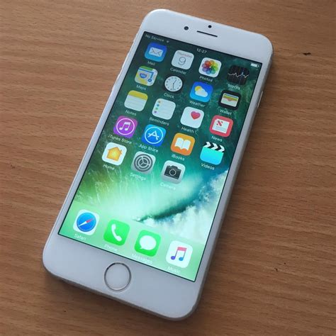 iphone 6 on iphone 6 silver white 16gb on vodafone network