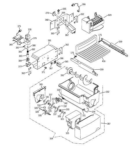 ge ice maker parts diagram wiring diagram list