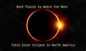 Next Total Solar Eclipse North America
