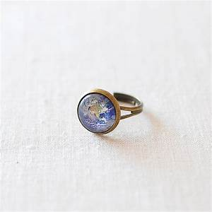 planet earth ring by juju treasures | notonthehighstreet.com