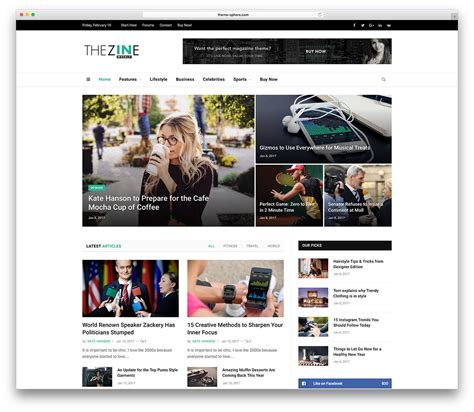 News Themes Top 50 News Magazine Themes 2019 Colorlib