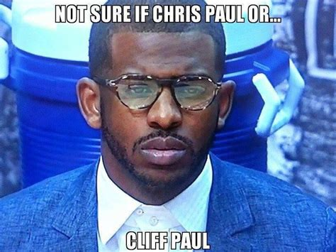 Chris Paul Memes - cliff paul sighting haha http weheartokcthunder com nba funny meme cliff paul sighting haha