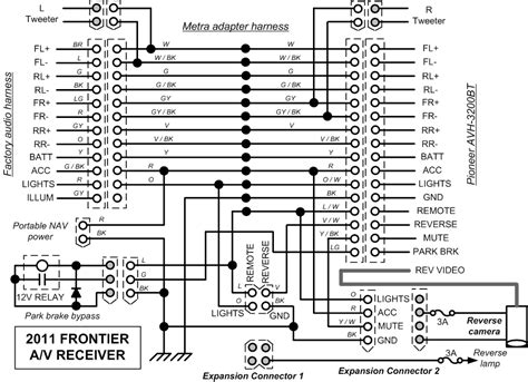 2011 nissan frontier stereo wire diagram 40 wiring