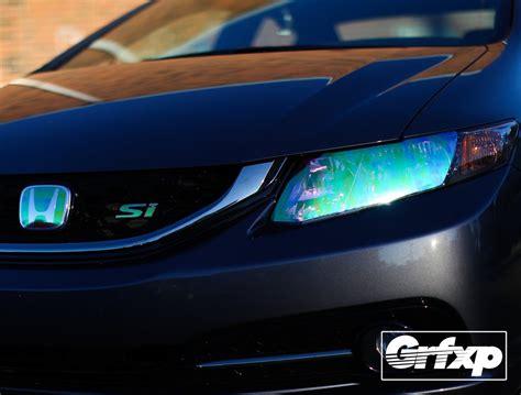 headlight overlays  thgen honda civic sedan