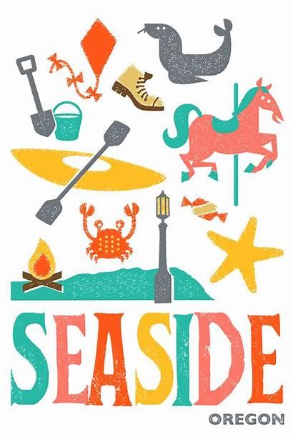 Seaside Clipart Oregon Tongue Instagram Opportunity Rebranding
