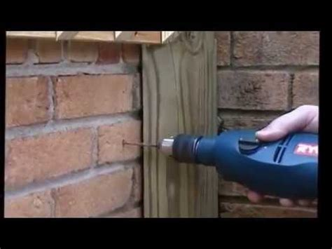 "How To Use ""tapcon"" Brand Fasteners For Masonry, Brick"